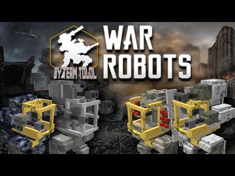 War Robots MCPE Addon Test Part #1