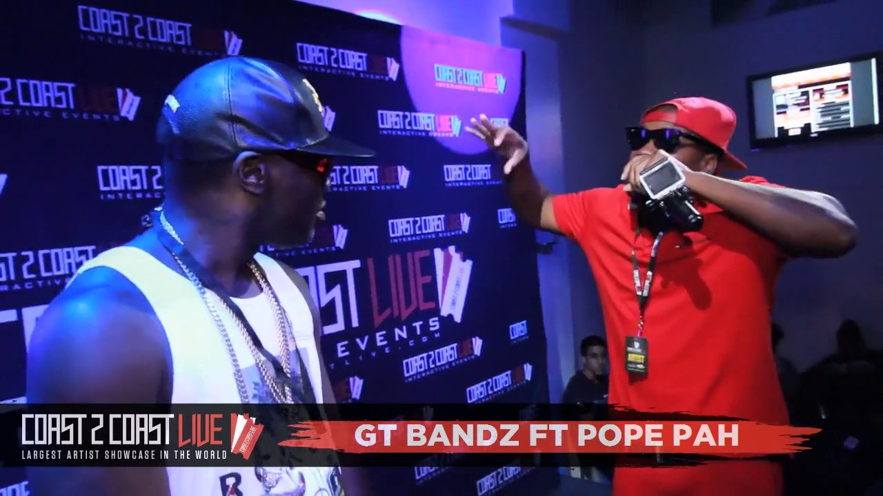 Gt Bandz Ft Pope Pah At Bandz2official Performs At Coast 2 Coast