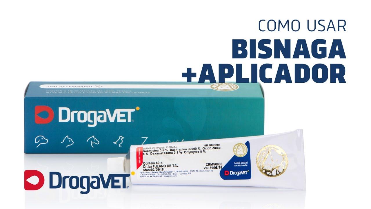 Como usar: Bisnaga com aplicador | Pasta oral - DrogaVET