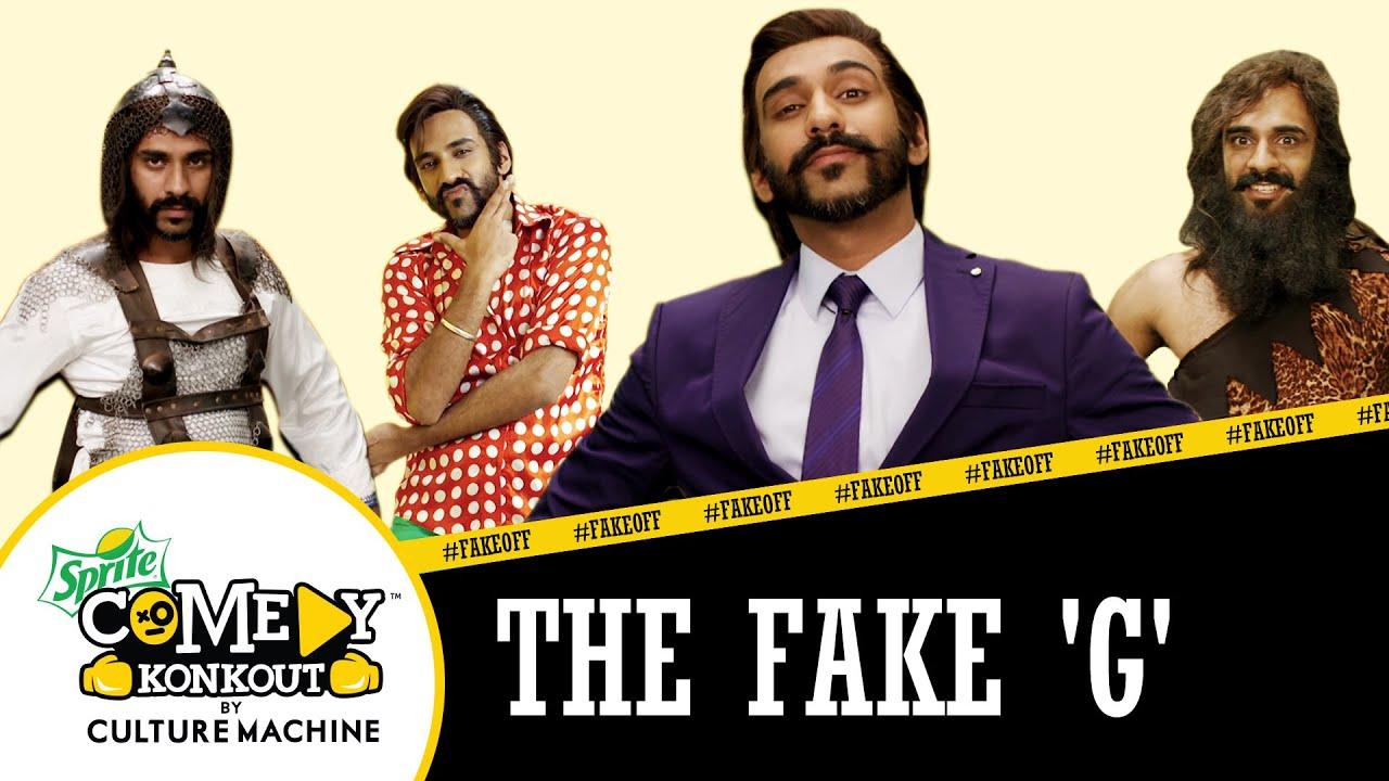 The Fake 'G'  #FakeOff #SpriteComedyKonkout