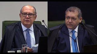"""Ministro Gilmar elogia Nunes Marques em sua primeira sessão no STF: """"coragem e inteligência"""""""