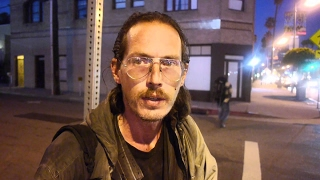 Homeless man talks openly about being addicted to heroin. We have an opioid crisis in America.