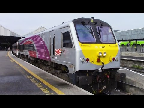Ride on the Enterprise Train from Belfast to Dublin. 7/4/17