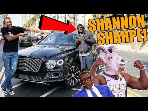 SHANNON SHARPE DROVE MY BENTLEY BENTAYGA!!