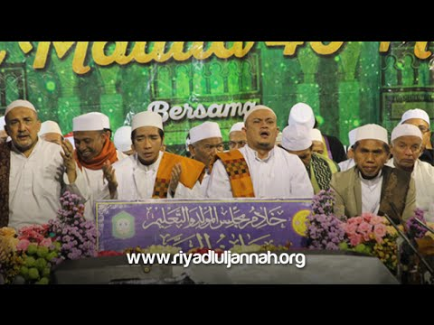 Allah Allahu & Qomarun Sidnan Nabi @ Dau (25 Desember 2015)