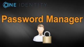 One Identity:Password Manager (Gerenciamento de Senhas)