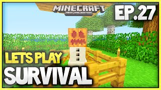 Minecraft Xbox One New Survival Lets Play - Episode 27 (Snow Golem Fun) HD