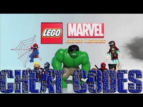 Lego Marvel SuperHeroes ALL CHEAT CODES