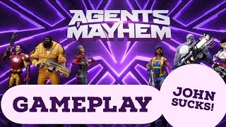 Agents of Mayhem Gameplay Review - As good as Saint