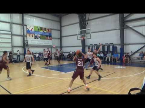 NH State AAU Tournament 17 U  Longhorns v Rim Spartans
