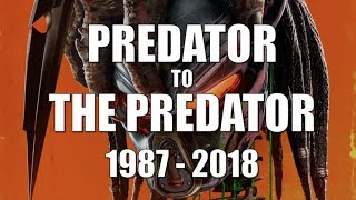 PREDATOR to THE PREDATOR | 1987 - 2018 (Whole franchise review/ranking)