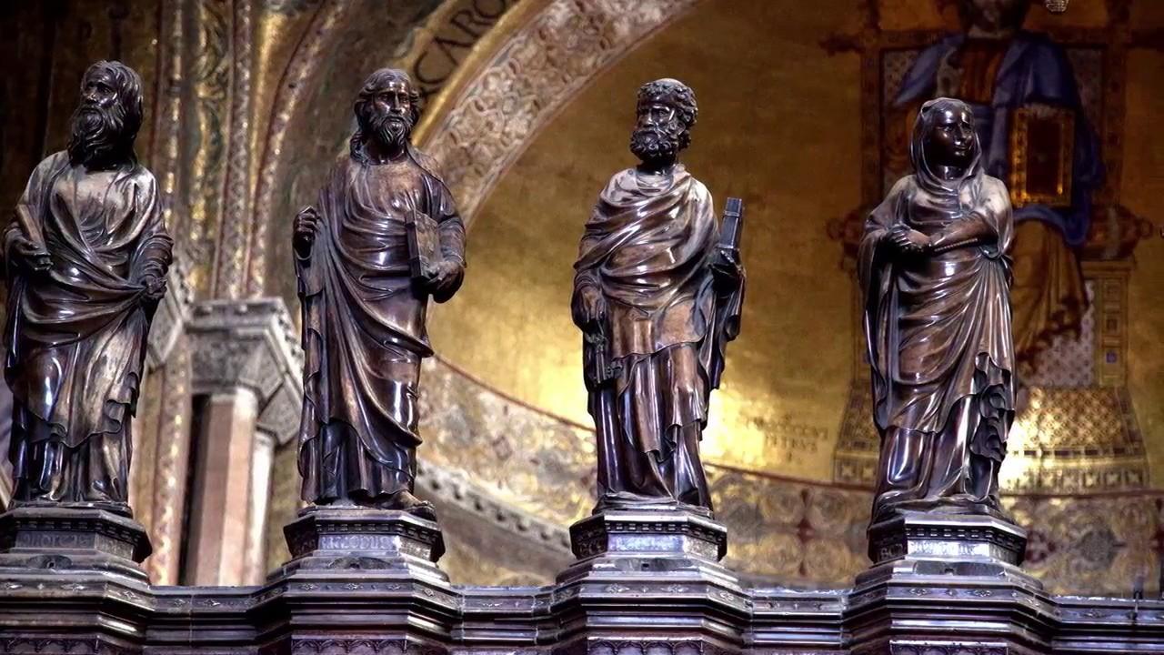 Venezia Basilica Di San Marco L 39 Interno Youtube