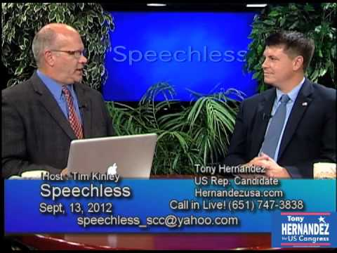 Tony Hernandez Interview on Speechless