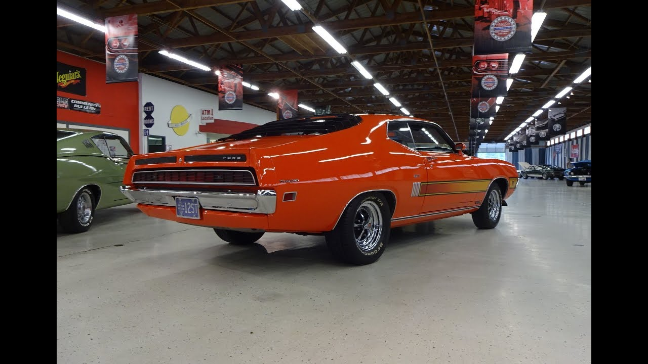 1970 Ford Torino Gt In Calypso Coral Orange 351 Engine Sound On My Fastback Car Story With Lou Costabile