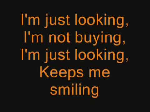 Just Looking - Stereophonics (lyrics)