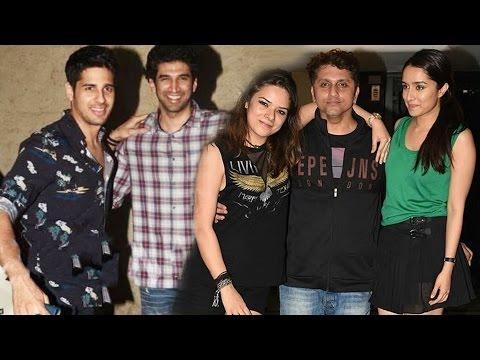 Mohit Suri's Birthday Bash | Sidharth Malhotra, Aditya Roy Kapur, Shraddha Kapoor, Arjun Kapoor