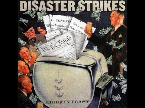 Disaster Strikes Liberty Toast CD