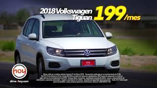 Hoy Volkswagen $99/al mes Jetta Especial y $199/al mes Tiguan May Especial at Hoy Volkswagen