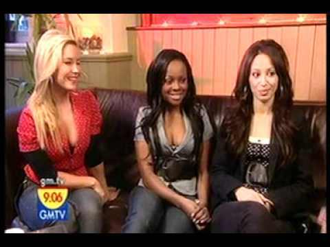 GMTV - interview with Sugababes new member Amelle - 3rd March 2006