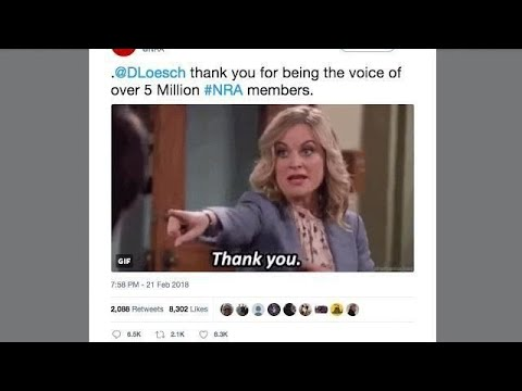 'Parks and Rec' forged fires again at NRA for Leslie Knope GIF