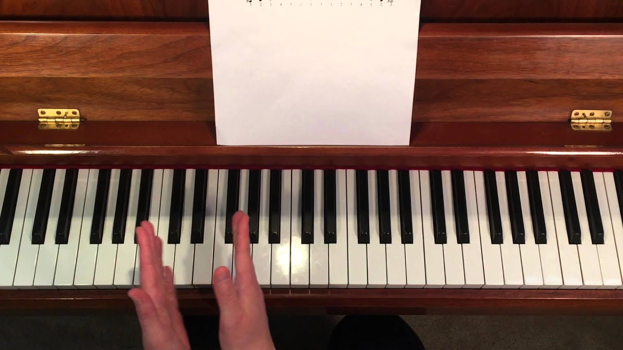 B Flat Chord Piano Left Hand Piano Lessons -...