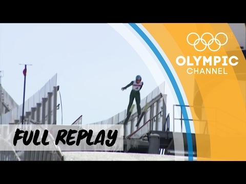 Ski jumping 🎿   RE-LIVE   European Youth Olympic Festival 2017