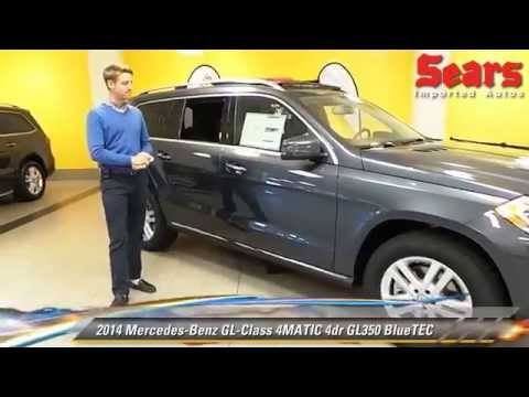 New 2014 mercedes benz gl class 4matic gl350 bluetec for Mercedes benz bloomington mn