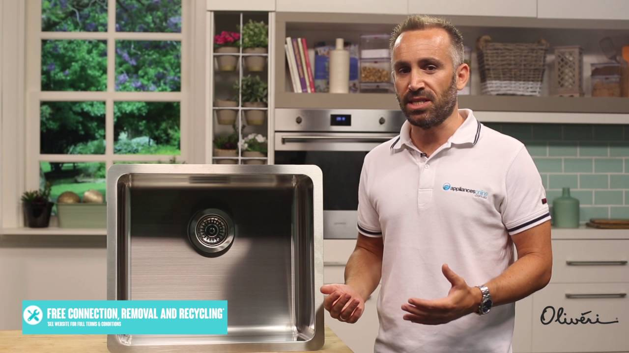 Oliveri How to select your kitchen sink - Appliances Online