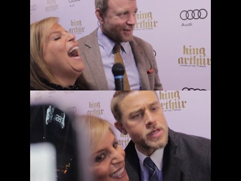 Pina Interviews Guy Ritchie and Charlie Hunnam