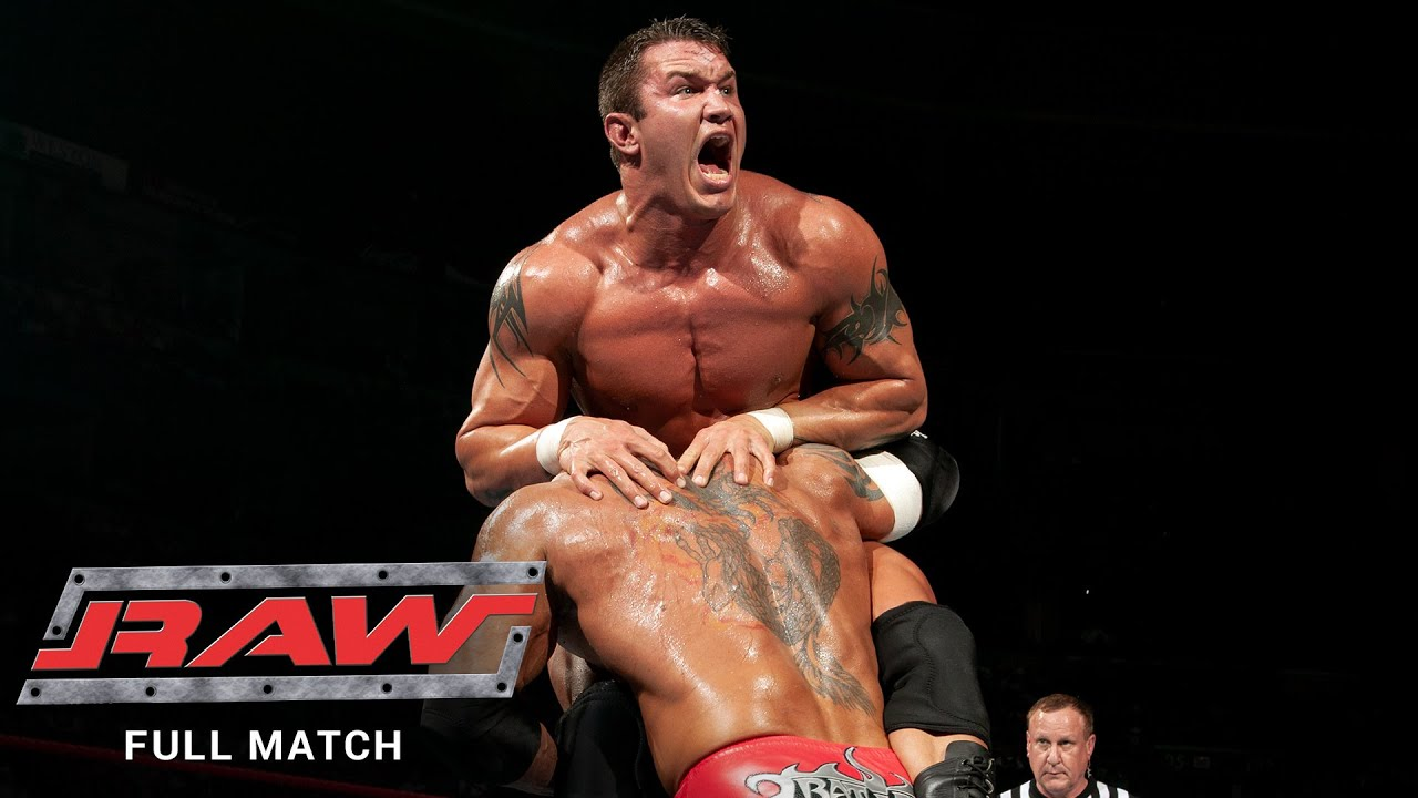 Download FULL MATCH - Randy Orton vs. Batista: Raw, Jan. 10, 2005