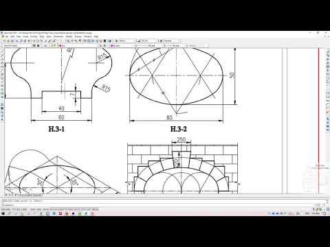 Vẽ kĩ thuật- HƯỚNG DẪN LÀM BÀI TẬP LỚN SỐ 2 – VẼ HÌNH HỌC