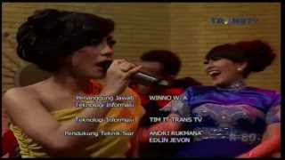 FARAH ZUBIR Live At Show Imah (23-12-2013) Courtesy TRANS TV