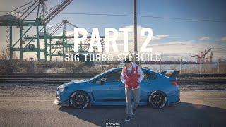 PART 2: BIG TURBO STI BUILD | EJ257 ENGINE REMOVAL