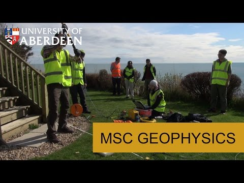 MSc Geophysics at the University of Aberdeen