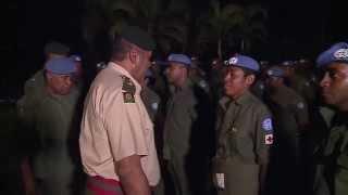 Fijian Troops Returned Home