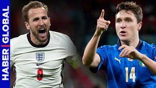 Euro 2020 İngiltere-İtalya Finali Öncesi Çarpıcı İstatistikler!