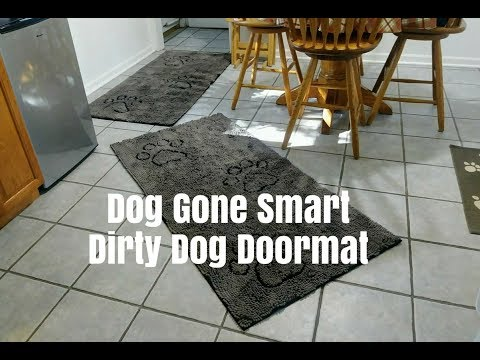 Dog Gone Smart Dirty Dog Doormat | Dog Mom Life | Schnauzer Mom Life