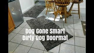Dog Gone Smart Dirty Dog Doormat | Dog Mom Life | Schnauzer Mom Life