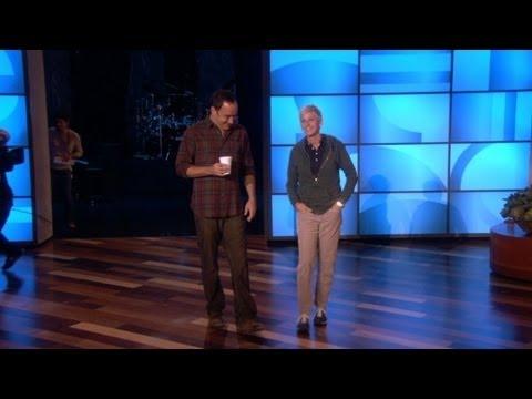 Dave Matthews Joins Ellen for Rehearsal