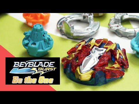 BEYBLADE BURST Be The One Series: Episode 3: Xcalius X4 Slingshock Top