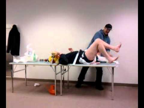 nurse Adult changing diaper