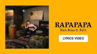 Rich Brian - Rapapapa [ft. RZA] - (Lyrics Video)