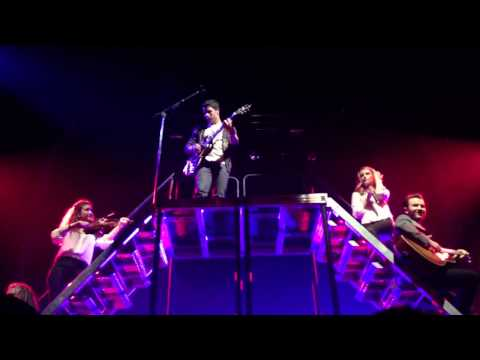"""Jonas Brothers """"give love a try"""" - pantages 11/27"""