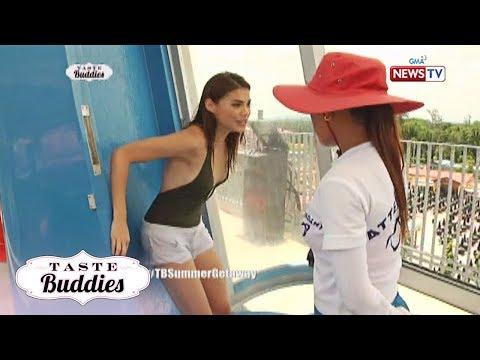 Taste Buddies: Rhian Ramos, kabado sa Drop Slide!