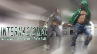 Juan Magan CeeLo Green Andre Truth - Internacional // Latin House zumba choreo by Jose Sanchez