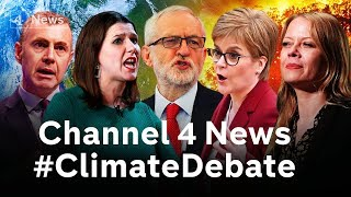 The Channel 4 News #ClimateDebate - world's first party leaders' debate on the climate