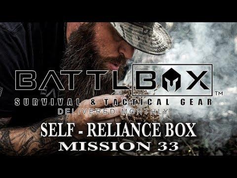 BATTLBOX MISSION 33 BREAKDOWN Self - Reliance Box