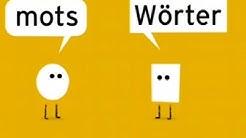 Lebens- oder Todesgefahr? Deutsch-französische Wortpaare | Karambolage | ARTE