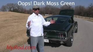 1967 Mustang GT Fastback (video 1) - MyRod.com