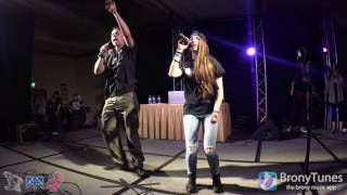 BlackGryph0n, Baasik, Michelle Creber, and Monique Creber LIVE @ Everfree Northwest Ponystock 2016!